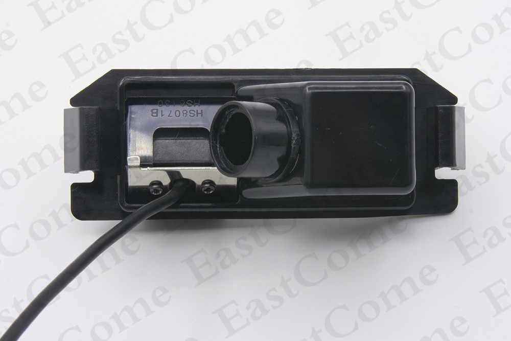 車 CCD ダイナミック軌道トラック防水 4 Led リアビューカメラバックアップバック駐車カメラ起亜ソウル 2012 2013 2014