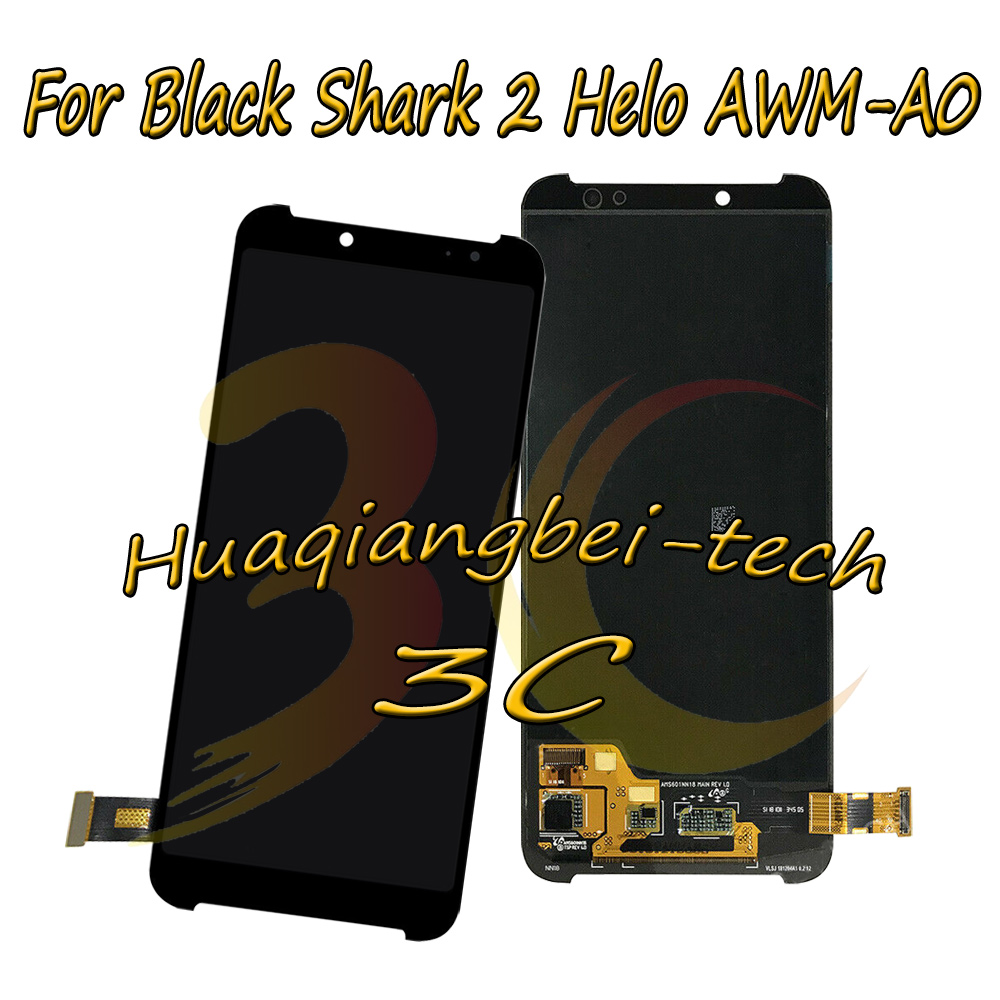 6.01 New For Xiaomi Black Shark 2 Helo AWM-A0 Full LCD DIsplay + Touch Screen Digitizer Assembly Replacement 100% Tested6.01 New For Xiaomi Black Shark 2 Helo AWM-A0 Full LCD DIsplay + Touch Screen Digitizer Assembly Replacement 100% Tested