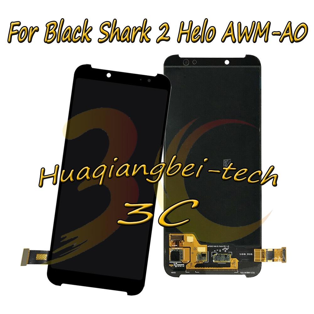 6.01 ''Nouveau Pour Xiaomi Noir Requin 2 Helo AWM-A0 Plein écran lcd + ensemble numériseur à écran tactile de Remplacement 100% Testé