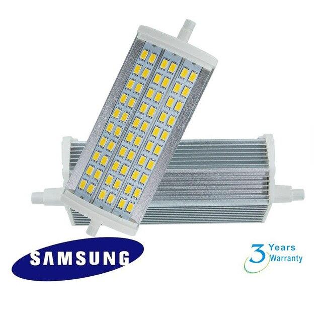 50 teile/los 18 Watt LED R7S lampe Hohe lumen 1750lm 135mm samsung ...