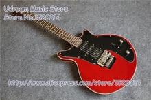 Горячая продажа красная глянцевая отделка Suneye электрогитара с хромированным оборудованием LP SG гитара ES электрическая доступная