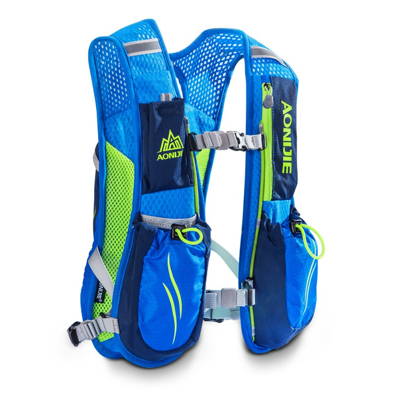 AONIJIE Outdoor Unisex Running Backpack Sports Bag Racing Marathon Hiking Fitness Bag Lightweight Hydration Hiking Vest Pack цена