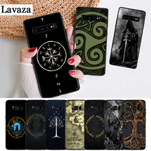 Lavaza The Lord of Rings Well Printed Silicone Case for Samsung S6 Edge S7 S8 Plus S9 S10 S10e Note 8 9 10 M10 M20 M30 M40