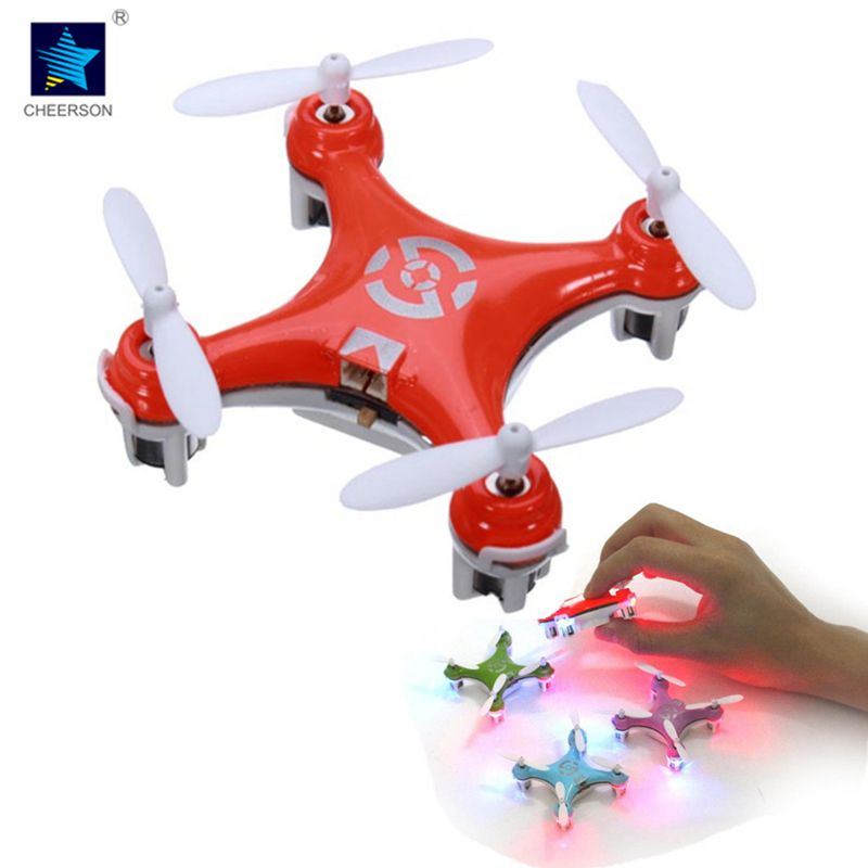 Cheerson CX-10 CX10 2.4G Remote Control Toys 4CH 6Axis RC Quadcopter Mini rc helicopters Radio Control Aircraft RTF Drone cheerson cx 95w 4axis rc drone remote control wifi dh camera quadcopter helicopter aircraft air plane children gift toys