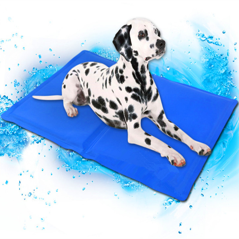 Us 7 44 25 Off Dog Cooling Mat Pet Ice Pad Teddy Mattress Pet Cool Mat Bed Cat Cushion Summer Keep Cool Pet Cooling Dog Mat For Dogs Xl Xxl In
