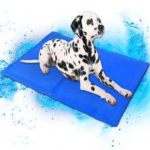 Dog Cooling Mat Pet Ice Pad Teddy Mattress Pet Cool Mat Bed Cat Cushion Summer Keep Cool Pet Cooling Dog Mat For Dogs XL XXL(China)