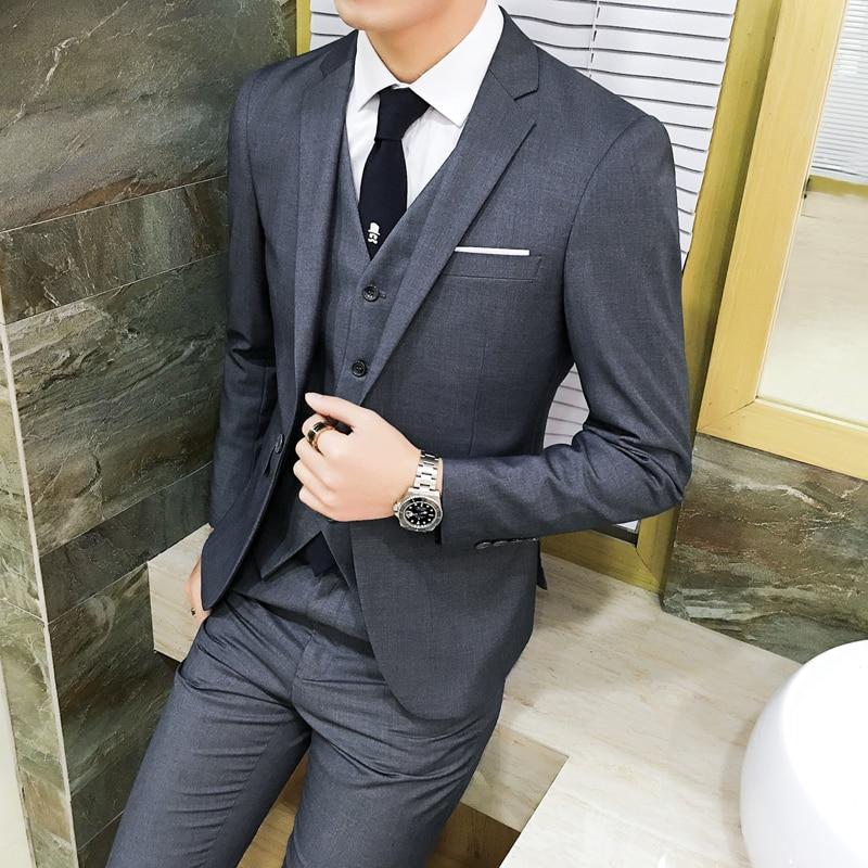 Aliexpress.com  Buy Mens Wedding Suits 2018 Brand New Tuxedo Suit Latest Coat Pant Designs ...