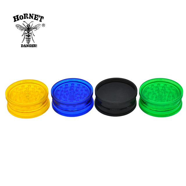 2 Layers Plastic Tobacco Grinder