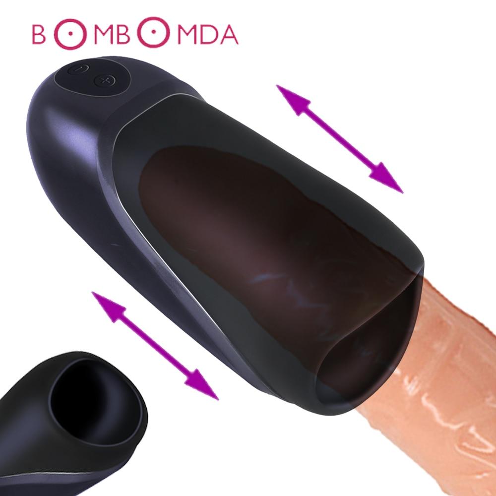 Vibration Penis Massager Masturbator for Men Penis Vibrating Massage Glans Stimulator Sex Toys for Men Rechargeble