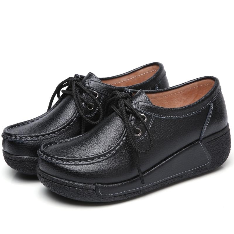 plataforma Sapatos Casuais Senhoras sapatos de Luxo feminino