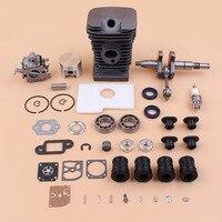 38mm Cylinder Piston Carburetor Crankshaft Bearing Kit For STIHL MS180 MS170 018 017 Chainsaw Parts with Annular AV Buffer Set