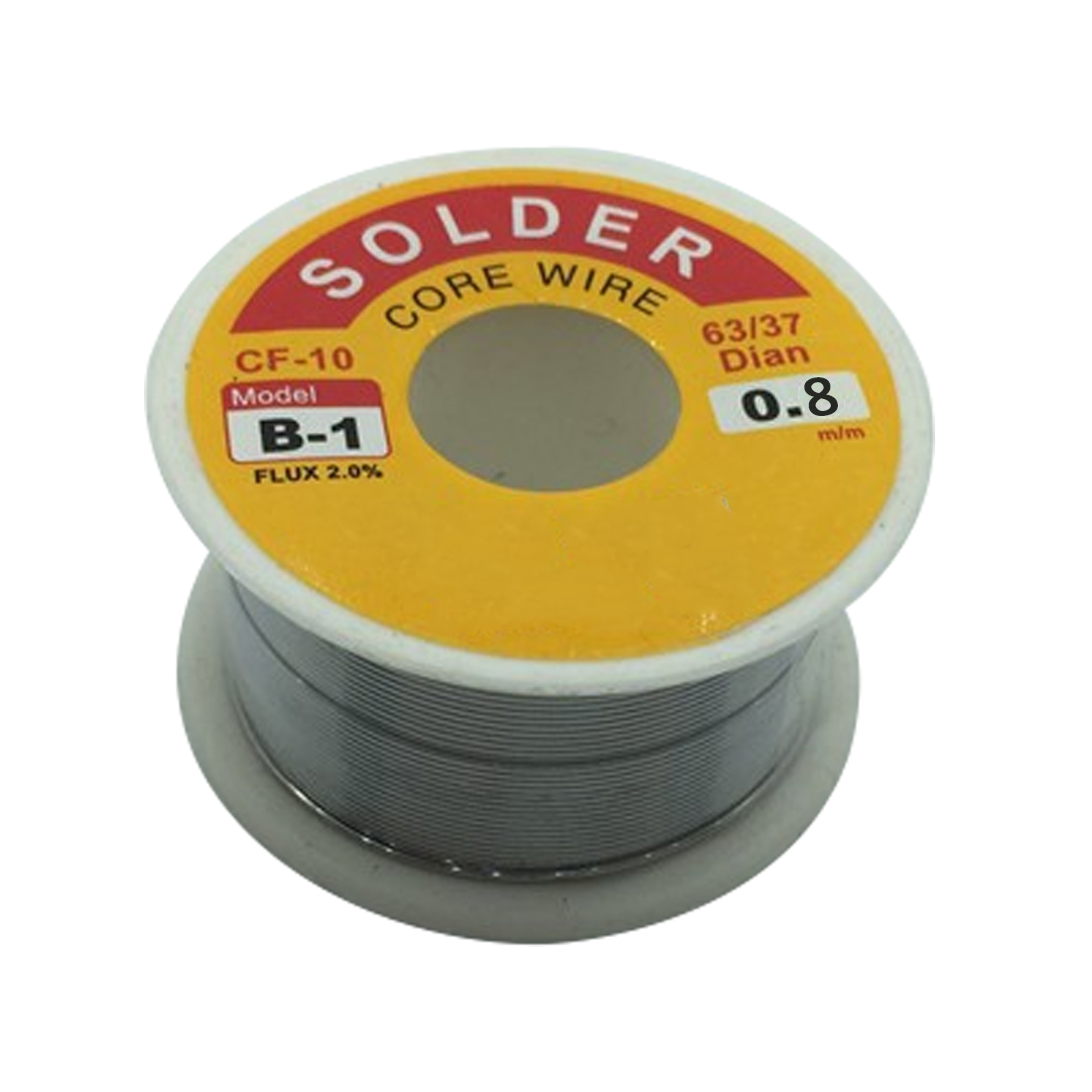 63//37 0.8mm 50g Tin Lead Rosin Core Solder Flux Soldering Welding Iron Wire/_UK