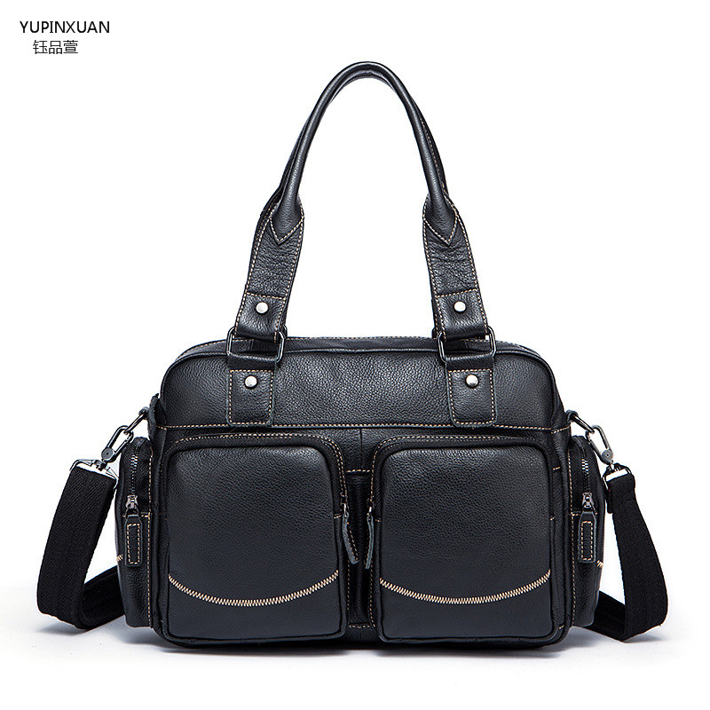 YUPINXUAN Genuine Leather Briefcases Men Real Leather Messenger Bags Business Laptop Bag Lawyer Brief Cases Maletin Chile yupinxuan genuine leather briefcases men real leather messenger bags business laptop bag lawyer brief cases maletin chile