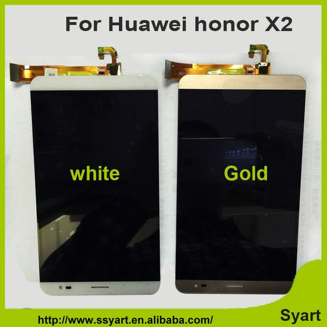 1920 x 1200 tela de LCD de toque digitador assembléia 7.0 polegada Relution LCD conserto para Huawei MediaPad honra X2 X2
