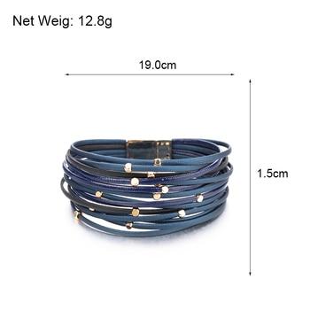 Bohemian Leather Bracelet size dimensions