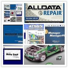 v10.53 alldata software mitchell on demand auto repair+elsawin+vivid+atsg+moto heavy truck 49in1 hard disk 1tb all data(China (Mainland))