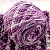 400g Mixed Color Baby Bamboo Cotton Thick Yarn For Hand Knitting Mink Cotton Knitting Tape Yarn