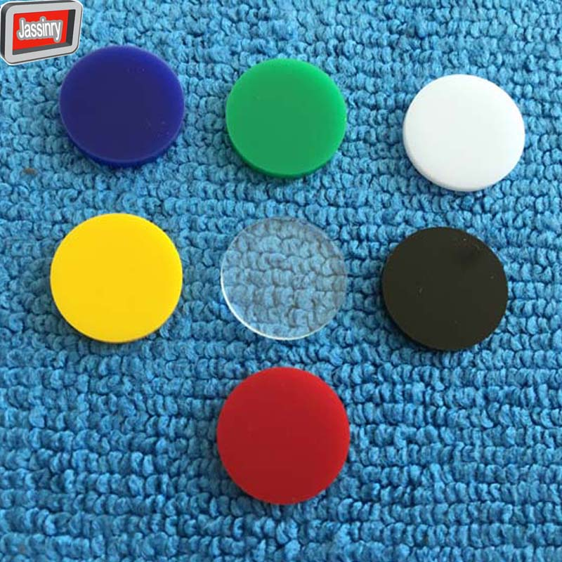 free shipping 3pcs Colorful acrylic Pool Cue tip Cushion 14mm Billiard Pool cue stick ferrule Gasket American Black 8 tip Shim