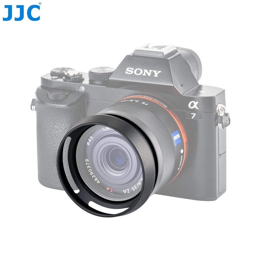 JJC Metal Circle Lens Hood Protector for SONY DSC RX1 RX1R RX1R II Digital Camera Replaces