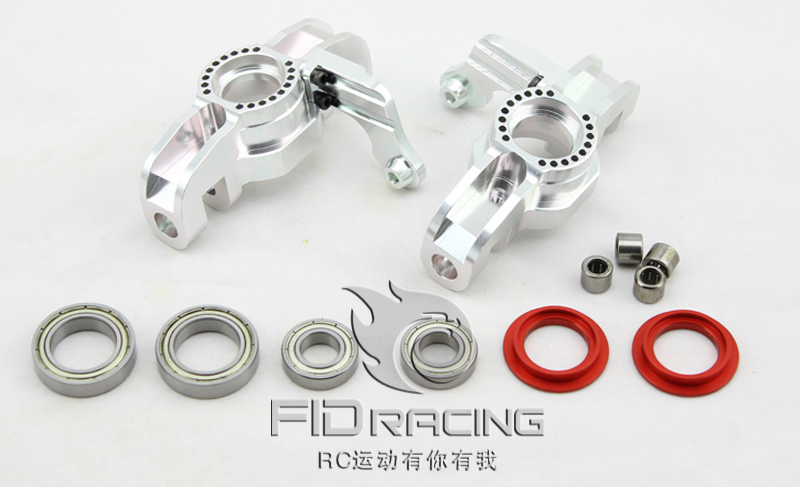 BILLET REAR HUB CARRIERS FOR LOSI 5IVE-T billet machined alloy rear lower suspension arms for losi 5ive t
