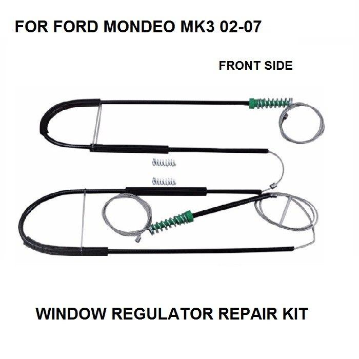 CAR CABLE FOR FORD MONDEO MK3 WINDOW REGULATOR REPAIR KIT