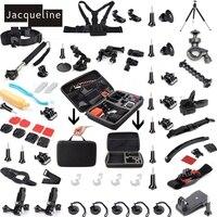Жаклин для комплект Интимные аксессуары Комплект для GoPro HD Hero 5 для Go Pro Hero 4 3 + 3 2 для SJCAM SJ4000 SJ6000 для EKEN h9r