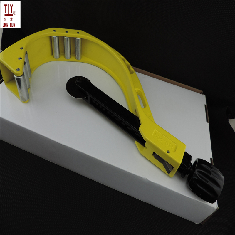 DN 110-200mm Plastic Pipe Cutter PVC/PU/PP/PE Hose Water Tube Scissors Aluminum Alloy Body Ratcheting Cutting Hand Tools 4 32mm bearing tube pipe cutter hand pipe hobbing circular blades for cutting copper iron aluminum stainless steel tubes