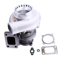 Turbocharger Anti Surge GT3582 GT35 T3 Flange AR 0.63 Water Cooled Turbo for Nissan Skyline R33 AR .63 A/R 0.7 RB25 RB20 Engine