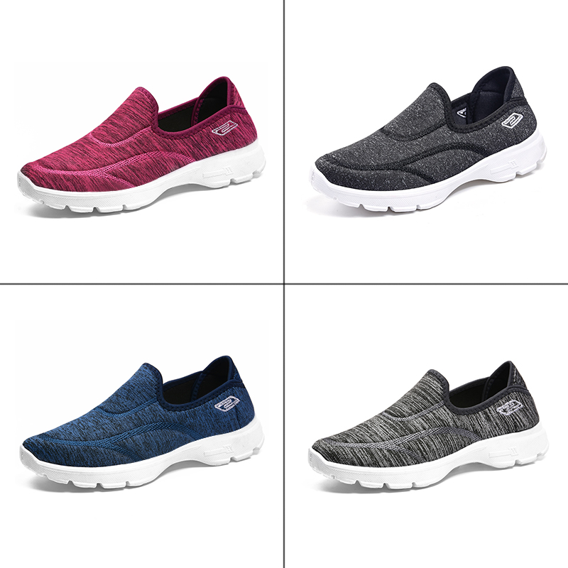 Image 5 - women casual shoes slips ladies fancy shoes women's macines comfortable breathable walking sneaker zapatillas mujer B11A-in Women's Flats from Shoes