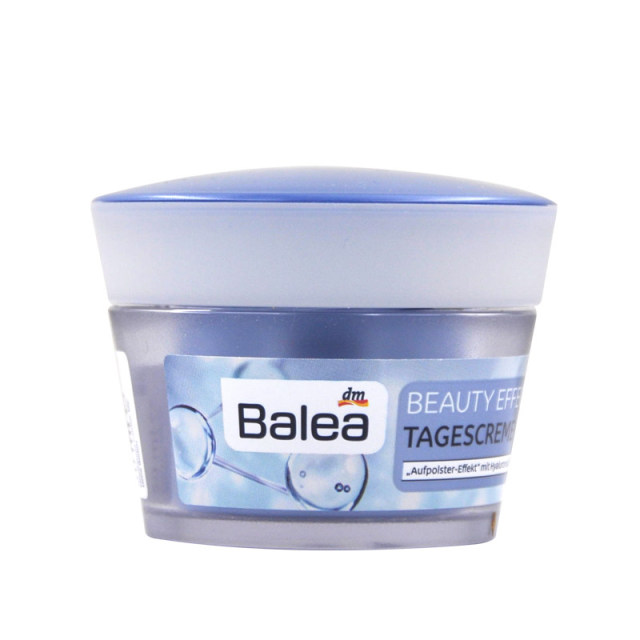 Germany Balea Day Creams &Moisturizer Face Care Beauty Effect Day Cream hyaluronic Acid Improves skin appearance soften wrinkles