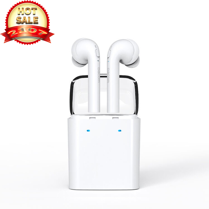 2017 Newest Wireless Headset fone de ouvido Bluetooth Earphone Stereo Earphones Earpiece With Mic Universal AirPods