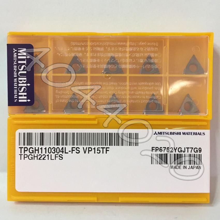 TPGH110304L FS VP15TF TPGH221LFS VP15TF 10pcs Box carbide inserts