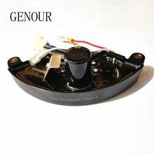 7KW Лихуа AVR для генератора AVR 6 провода одиночной фазы, 5-6KW трехфазный автоматический Напряжение регулятор 400V 470 мкФ TT15-4