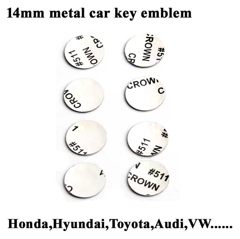 (HOT PRICE) 14mm Diameter All Kinds Car Key Emblem, Remote