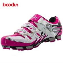 BOODUN Women Road Cycling Shoes Mtb Sapato Bike Chaussure Vtt Self locking Zapatillas Ciclismo Breathable Bicycle