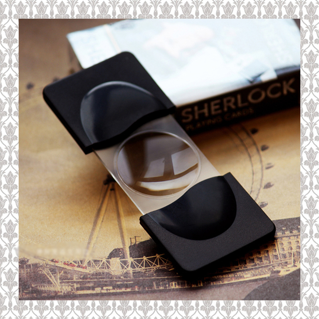 US $7 99 |Mini Detective Sherlock Loupe Magnifier magnifying glass Holmes  Benedict Cumberbatch Doctor Strange foldable Reading Glass Lens-in  Figurines