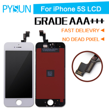 AAA+ quality For Iphone 5s Digitizer Lcd Replacement Brand New Touch screen Assembly 100% Tested For 5s ecran  Free Shipping