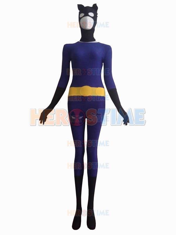 popular purple catwoman costume