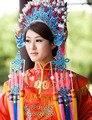 Аксессуары для волос в китайском стиле свадьбы невеста шляпа корона реквизит производительность свадебный костюм