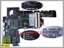 original 576797-001 For HP DV3 CQ35 PM45 LA-4735P Laptop Motherboard 100% Test ok