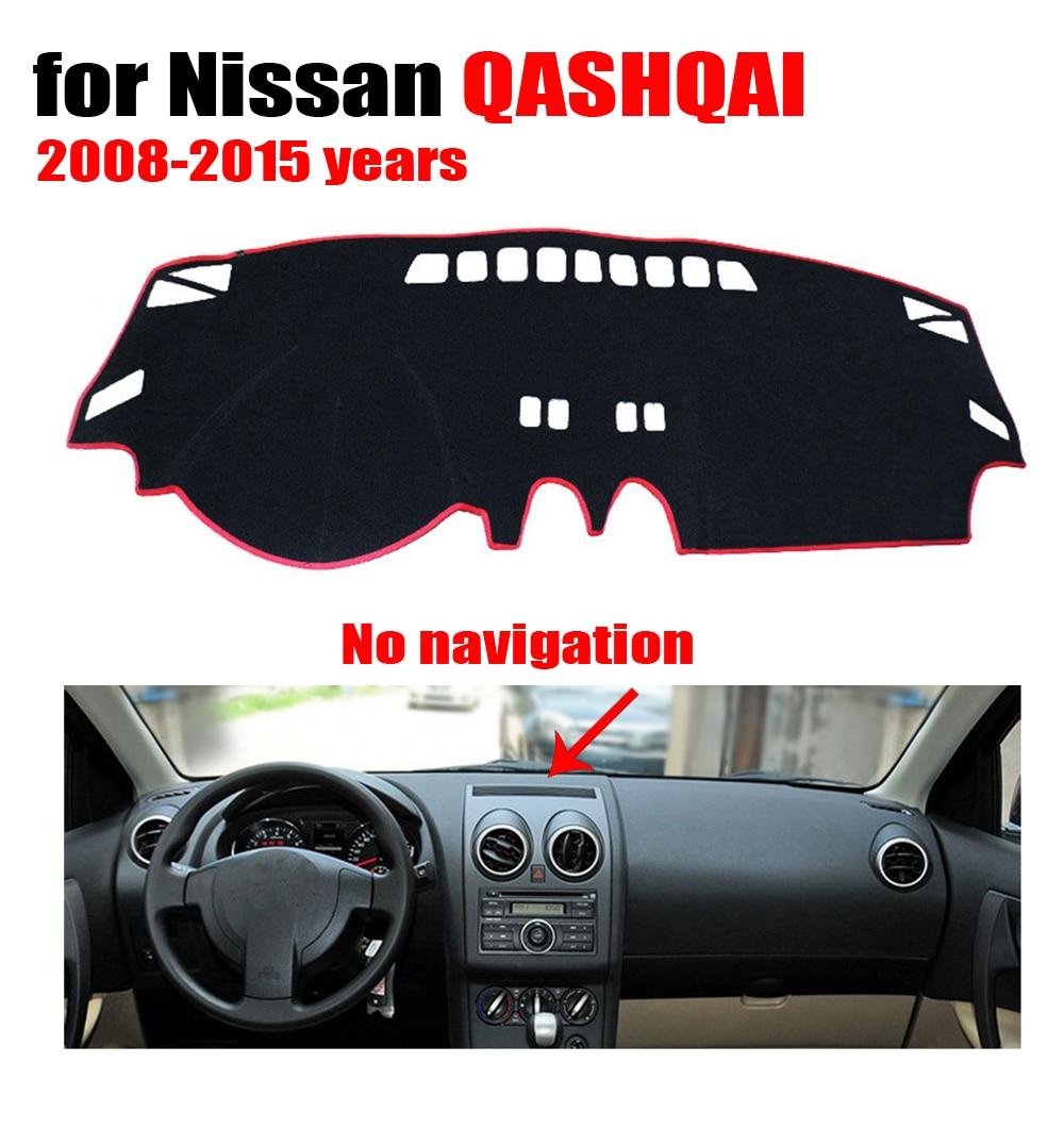 Floor mats nissan qashqai - Car Dashboard Cover Mat For Nissan Qashqai No Navigation 2008 2015 Left Hand Drive Dashmat