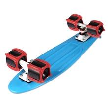4Pcs Skateboarding Training Dolphin Jumping Portable Durable Wheel Cover Used To Improve Kickflip Skateboard Fitting#290828
