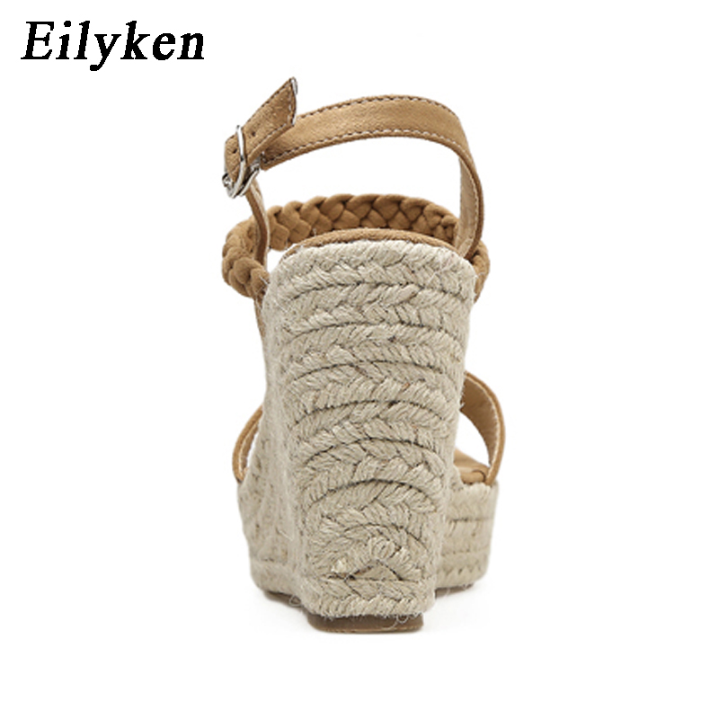 Cales Talons Sangle 2019 Concise Black Eilyken Femmes Main brown À D'été Dames Boucle Chaussures Casual La Sandales hQCxsdtr