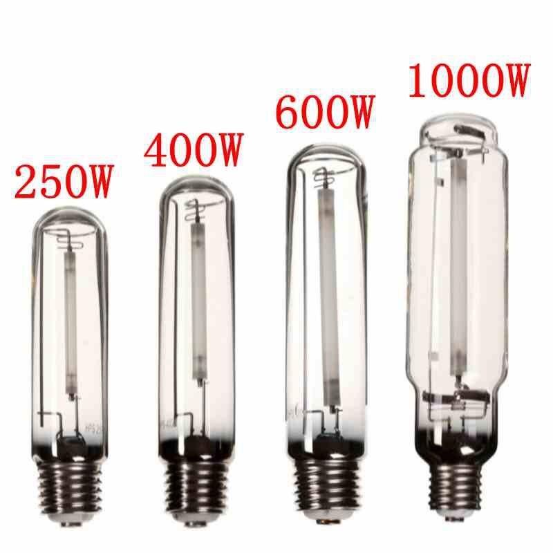 Crece la luz HPS lámpara E40 250 W/400 W/600 W/1000 W sodio de alta presión flor bulbo flores verduras planta crece la lámpara de lastre