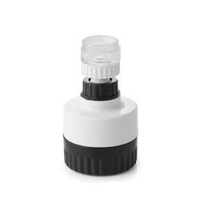 Image 3 - ABS + силиконовые ручная стирка Ванная Комната Раковина водосберегающий кран кухня инструменты для смесители Extender поворотный фильтр для воды регулируемый удлинитель на кран светящаяся насадка для крана
