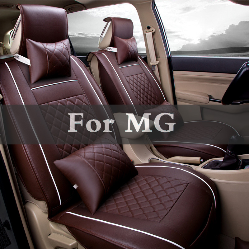 Cuir Auto Fit la plupart des sièges de véhicules Auto siège de voiture couvre automobile housses de siège pour Mg 3 6 Tf Xpower Gs Sv Zr Zt 350 550 5 Zs