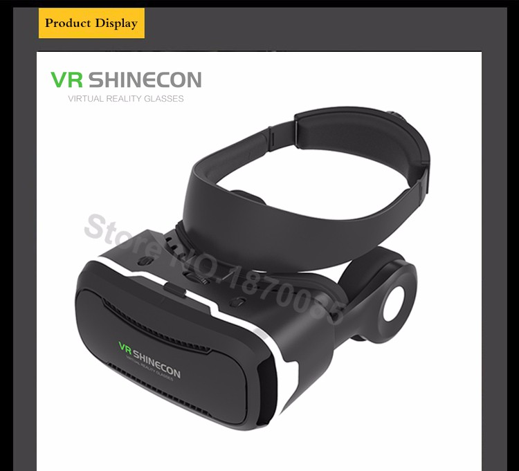 Newest VR Shinecon 4.0 Google cardboard VR BOX with Headphone VR Virtual Reality 3D Glasses PK Z4 For 4.5-6.0 inch Smartphone (11)