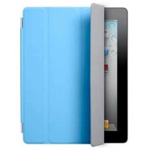 Fashion Magnetic Slim Leather Smart Cover Case Skin For iPad Air 2 Blue