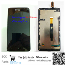 For Nokia Lumia 1320 N1320  LCD display +Touch Screen digitizer with frame  For Nokia Lumia 1320 N1320,BlackTest ok