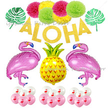 Buy pineapple flowers luau party and get free shipping on